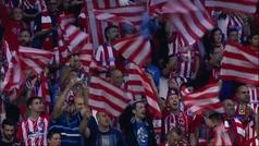 El homenaje del Atlético para el derbi: así sonará el himno en el terreno de juego