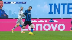 El doblete de Achraf en la Serie A: y el segundo es... ¡Mamma mia!
