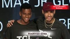Así juega Rodrygo Gaes, la nueva sensación del fútbol brasileño