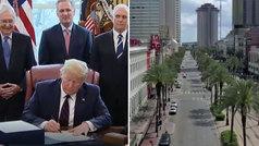 El brote de coronavirus se acelera en Estados Unidos y Trump toma medidas
