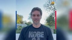 """El mensaje de Pau Gasol al Barça: """"Vuelvo a casa"""""""