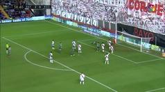 Gol de Héctor Moreno (2-1) en el Rayo 2-2 Real Sociedad