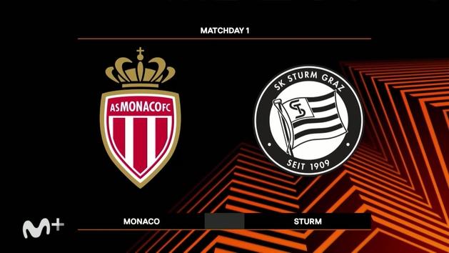 Europa League (J1): Resumen y goles del Mónaco 1-0 Sturm Graz