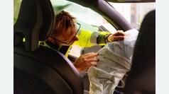 El centro de seguridad de Volvo, a pie de carretera