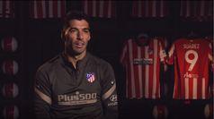 """Suárez en rojiblanco: """"La motivación de venir a un grande de España es la que me hizo decidirme"""""""