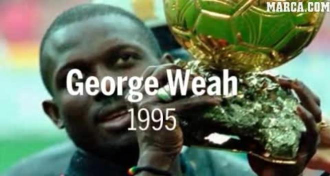 Lainez, elogiado por hijo de George Weah