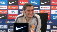 La divertida anécdota de Valverde en rueda de prensa