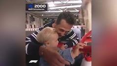El vídeo más bonito que verás hoy: el día que Schumacher mostró a su hijo el mundo del motor