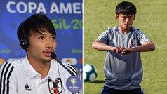 """Shibasaki avala a Kubo: """"Es el futuro del fútbol japonés"""""""