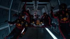 Red Bull realiza un 'pit stop' en gravedad cero
