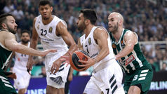 Resumen. Euroliga: Panathinaikos 82-89 Real Madrid