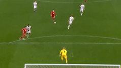 Bale marcó un gran gol en la derrota de Gales ante Dinamarca
