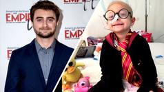 Daniel Radcliffe manda mensaje y cumple sueño de niña mexicana con cáncer