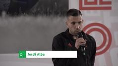 """Jordi Alba: """"Morata sería bienvenido"""""""