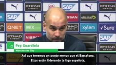 La Premier casi perdida y Guardiola se acuerda de Madrid y Barça