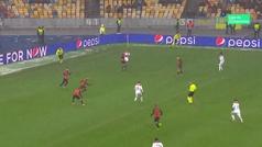 Gol de Fekir (1-1) en el Shakthar 1-1 Lyon