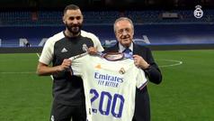Benzema llega a los 200 goles en liga con la camiseta del Real Madrid