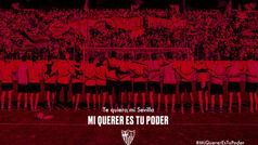 El spot del Sevilla para sentir el calor de su afición en la distancia