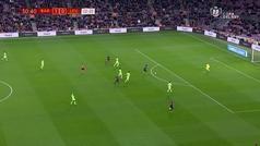 Gol de De Blasis (2-0) en el Eibar 3-0 Espanyol