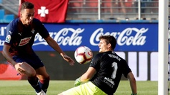 Gol de Escalante (1-2) en el Eibar 1-2 Huesca