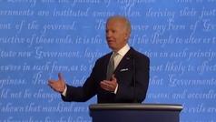 """Trump vs Biden, el primer debate presidencial de EE.UU., fue """"un show de mierda"""""""