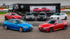 La Accademia de Alfa Romeo: a prueba los Stelvio y Giulia QV