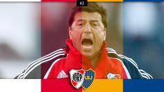 A Passarella le anulan su gol 100 y le expulsan en su último partido