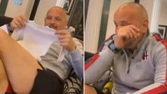 Mihajlovic se entera de que va a ser abuelo y su reacción te conmoverá