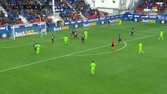 Gol de Toño (4-3) en el Eibar 4-4 Levante