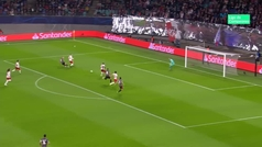 Gol de Pizzi (0-1) en el RB Leipzig 2-2 Benfica