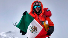 """Viridiana Álvarez: """"El K2 fue una montaña que me hizo ver parte de mis límites"""""""