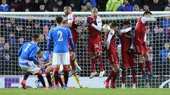 Europa League (1/16, ida): Resumen y goles del Rangers 3-2 Braga