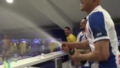 Así fue la locura sobre el césped y en el vestuario del Espanyol tras clasificarse para Europa