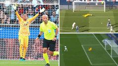 Keylor Navas brilló en su debut en el PSG con varias paradas de mérito
