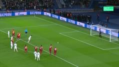 Gol de Cavani (p.) (5-0) en el PSG 5-0 Galatasaray