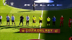 Copa del Rey (1/16 final): Resumen y goles del Espanyol 0-2 Osasuna
