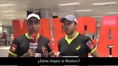 Belasteguin y Lima, a punto para el Masters final del World Pádel Tour