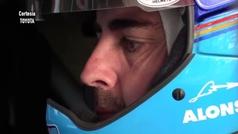 El video de Fernando Alonso 'volando' con el Toyota del Dakar
