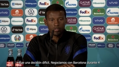 Wijnaldum desvela por qué eligió al PSG ante que al Barça