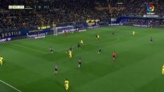 Gol de Oro (J24): Gol de Ekambi (2-0) en el Villarreal 3-0 Sevilla