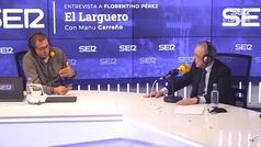 """Florentino Pérez, sobre Ceferin y Tebas: """"Hay que ser educados y recapacitar sobre el negocio"""""""