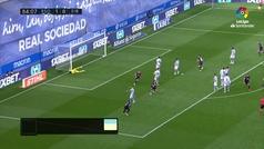 Gol de Jordán (1-1) en el Real Sociedad 1-1 Eibar