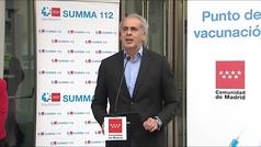 Madrid quiere vacunar con AstraZeneca a los menores de 60 que así lo soliciten