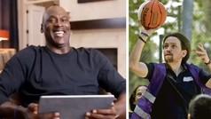 Michael Jordan 'alucinando' con un vídeo de Pablo Iglesias jugando al Baloncesto