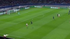 Gol de Sabitzer (2-0) en el RB Leipzig 3-0 Tottenham