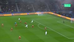 Gol de Mbappé (4-0) en el PSG 5-0 Galatasaray