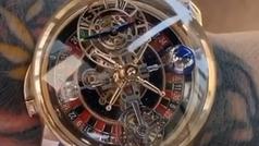 Conor McGregor presume de un espectacular reloj de más de 544.000 euros