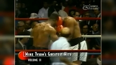 Mike Tyson dio una lección de boxeo ante Reggie Gross antes de derribarlo