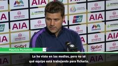 """Pochettino vacila sobre Bale: """"No sé si estamos negociando con él o es otro club"""""""
