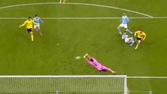 Gol de Reus (1-1) en el Manchester City 2-1 Borussia Dortmund
